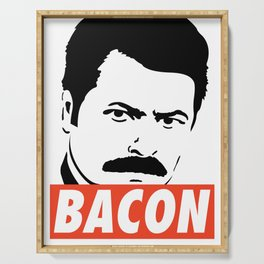 Swanson bacon Serving Tray