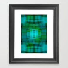 Green#2 Framed Art Print