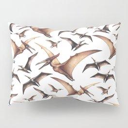 Realistic watercolor dinosaur Pillow Sham