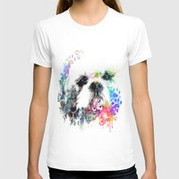 shih tzu T-shirts featuring Shih TZU  by PhotosbySN