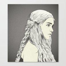 D T Canvas Print