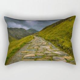 The ascent Rectangular Pillow