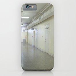 Mental hospital hallway iPhone Case