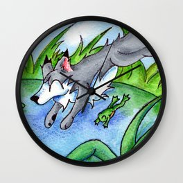 Wolf Pond Wall Clock