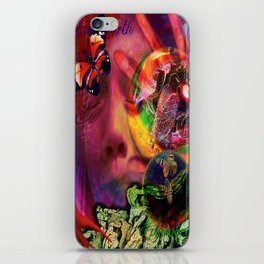 Blue Earth Uprooted iPhone Skin