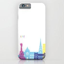 Linz skyline pop iPhone Case