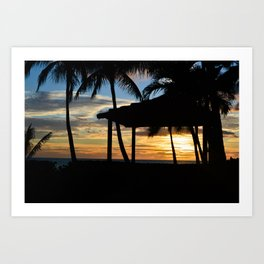 Hawaii Sunset 2 Photo Art Print