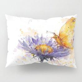 Flowers & Flutters Pillow Sham