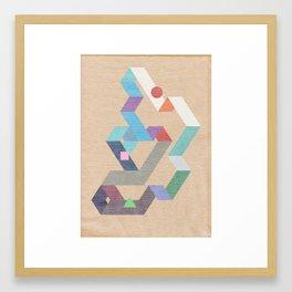 Parallelogram: Harmony Framed Art Print