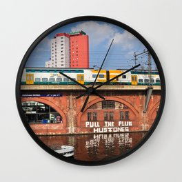 Old storehouse of Berlin Wall Clock