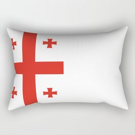 Flag of Georgia Rectangular Pillow