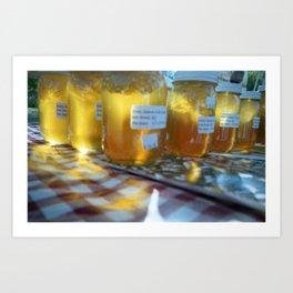 Honey Glow Art Print