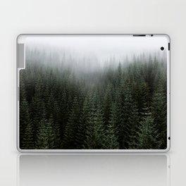 Dizzying Misty Forest Laptop & iPad Skin