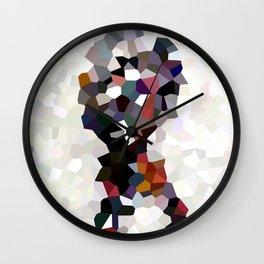 Geometric Anatomy Wall Clock