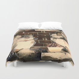 Are You Nuts Duvet Cover