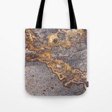 Gold Inlay Marble II Tote Bag