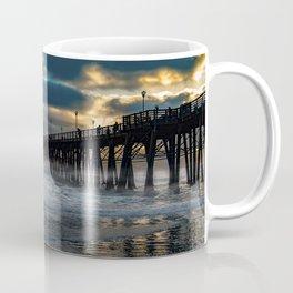 October's Dawn ~ Oceanside Pier Coffee Mug