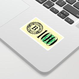 Bank Note Sticker