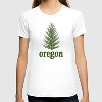 oregon T-shirts featuring Oregon by Julie