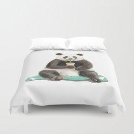 Panda - a Summer Bear 2014 Duvet Cover