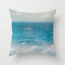 Beach02 Throw Pillow