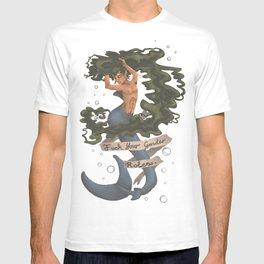 Fuck Your Gender Roles Merperson T-shirt