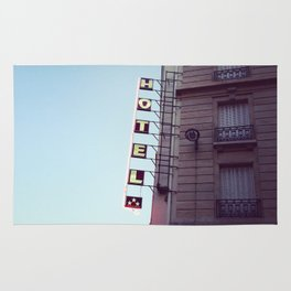 le signe de l'hôtel Rug