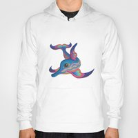 dolphin Hoodies featuring dolphin by giol's by gianalberto oliva