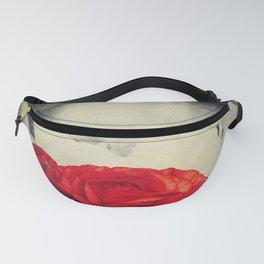Vintage red Fanny Pack