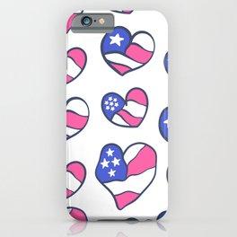 Love USA iPhone Case