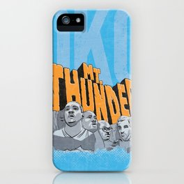 Mt. Thunder! iPhone Case