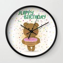 Happy birthday! Wall Clock