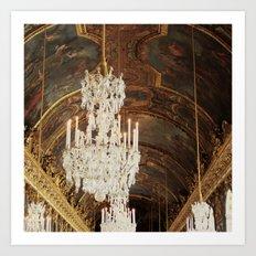 The Wonder Of Versailles Art Print