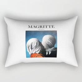 Magritte - The Lovers Rectangular Pillow
