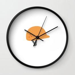 Hardhat Wall Clock