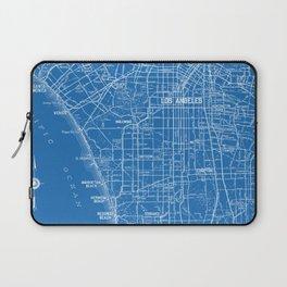 Los Angeles Street Map Laptop Sleeve