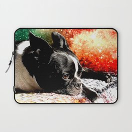 Boston Terrier (Jake) Laptop Sleeve
