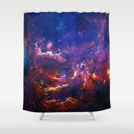 New View of Milky Way Shower Curtain