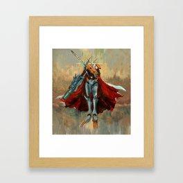 The Omega  Framed Art Print