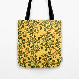Vintage Yellow  Tote Bag