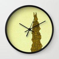 freedom Wall Clocks featuring - freedom - by Magdalla Del Fresto