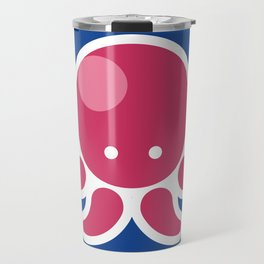 Adorable Cartoon Octopus Professionally Designed Travel Mug