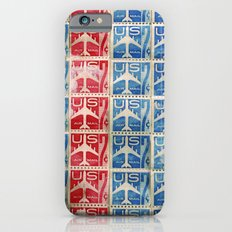Vintage Postage Stamp Collection - 04 (airmail) iPhone 6s Slim Case