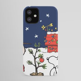 Movie A Charlie Brown Christmas Peanuts Snoopy Cha iPhone Case