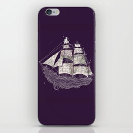 Wherever the wind blows iPhone Skin