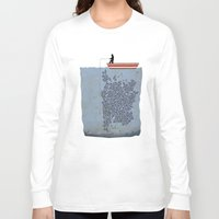 gladiator Long Sleeve T-shirts featuring FISH by karakalemustadi