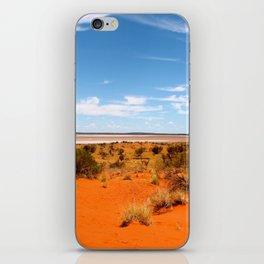 Outback Saltflats iPhone Skin