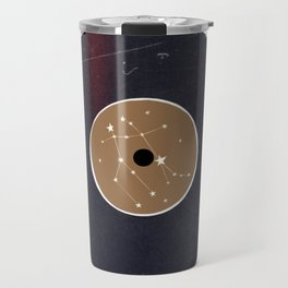 Vinyl Record Star Sign Art | Gemini Travel Mug
