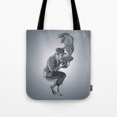 Cannes 2013 x Spielberg x ET (black and white) Tote Bag