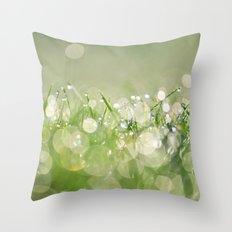 morning dew no.1 Throw Pillow